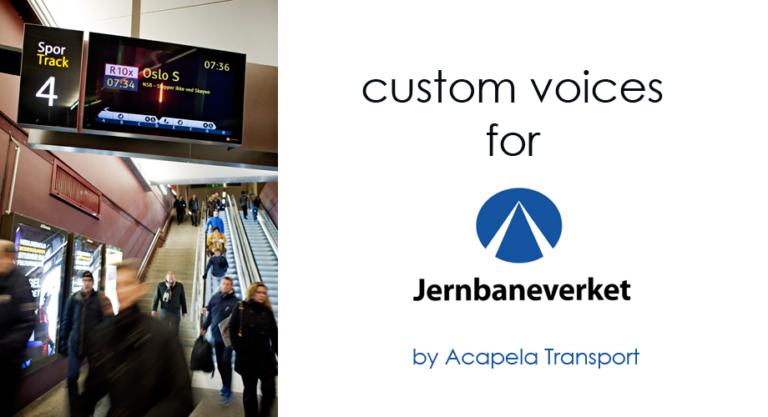 AcapelaGroup - Custom Voices - Transport