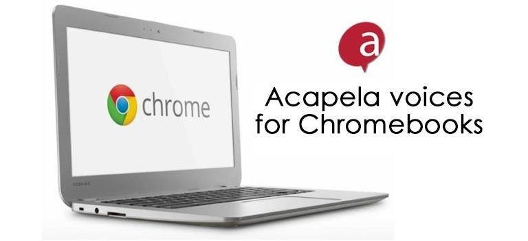 Acapela group - chromebooks