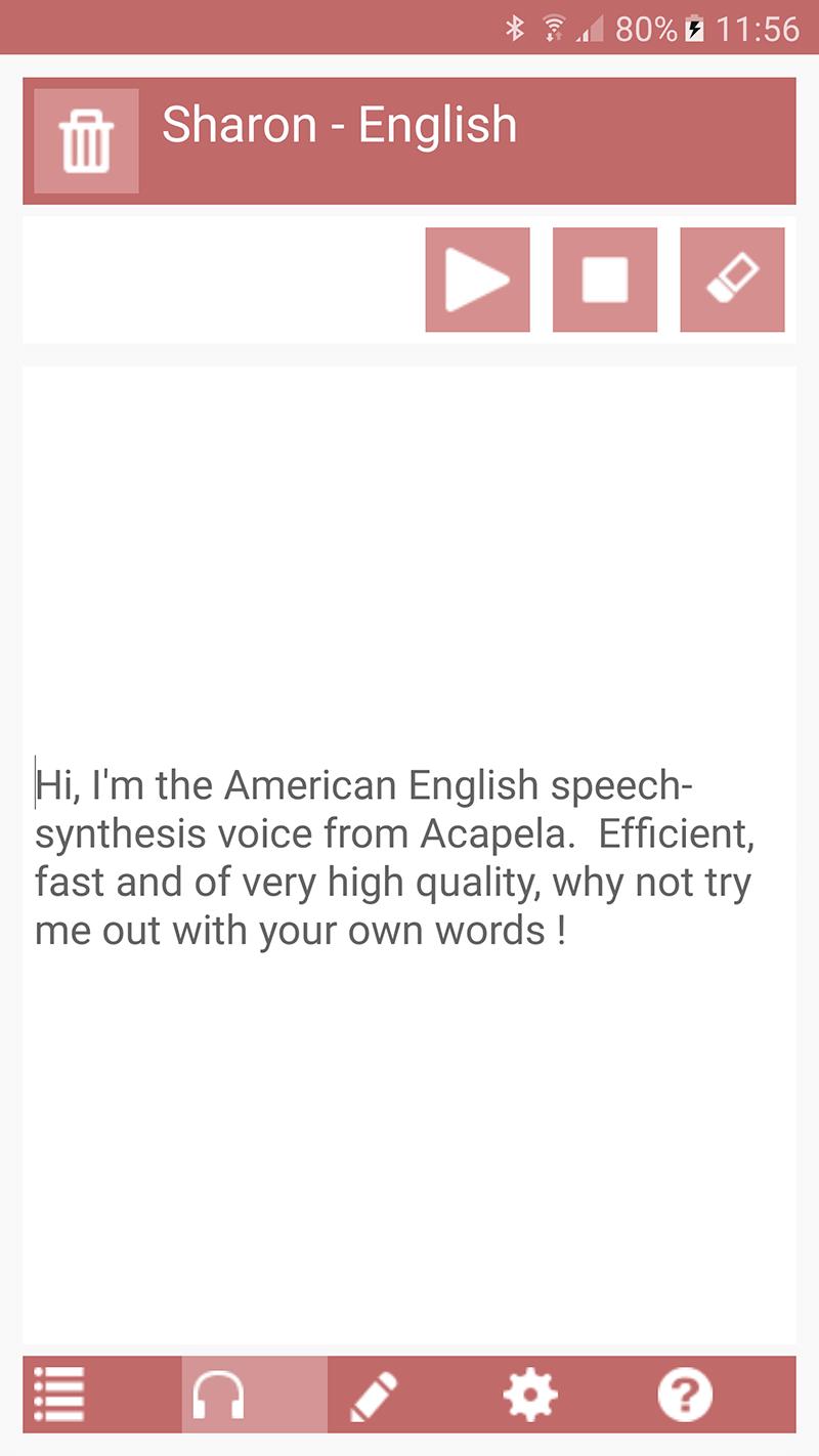 Acapela TTS Voices - Google Play - installation infos 10