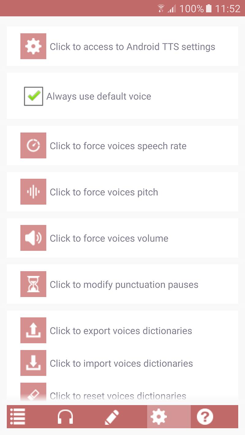 Acapela TTS Voices - Google Play - installation infos 14