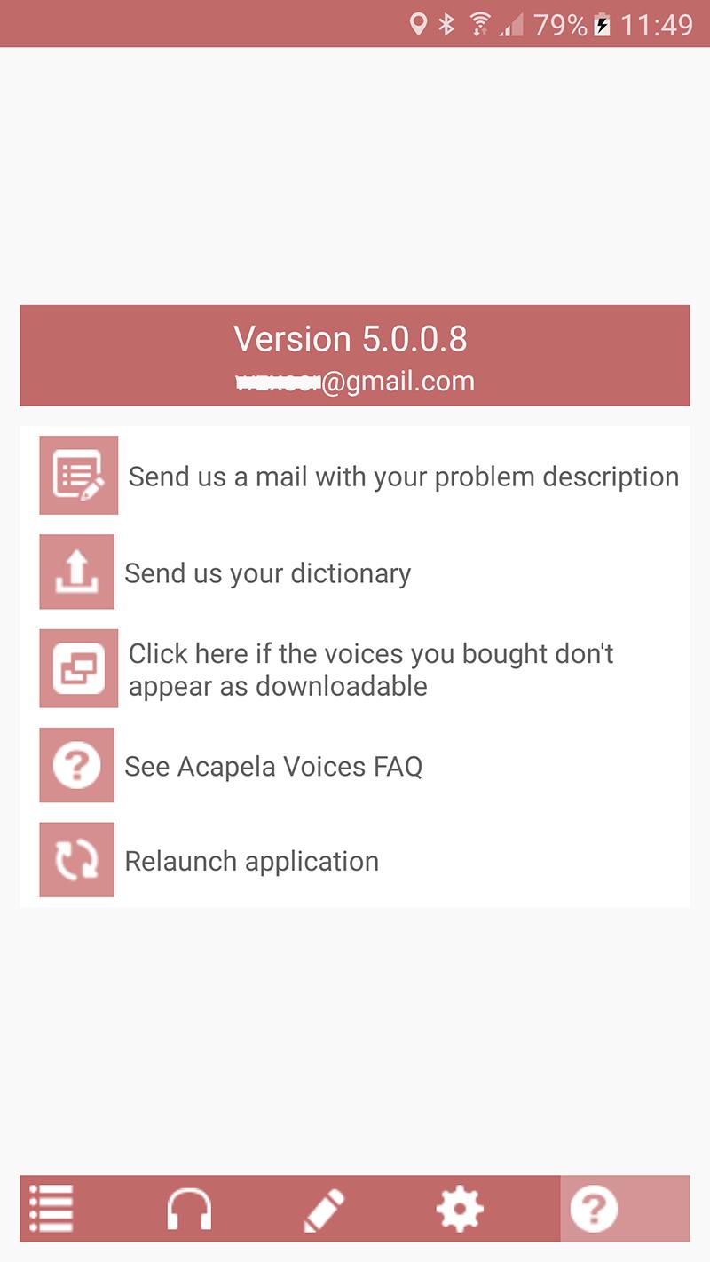 Acapela TTS Voices - Google Play - installation infos 7